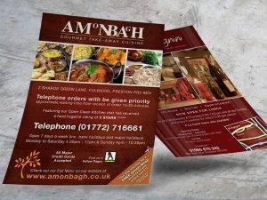 Take-Away Leaflet Print