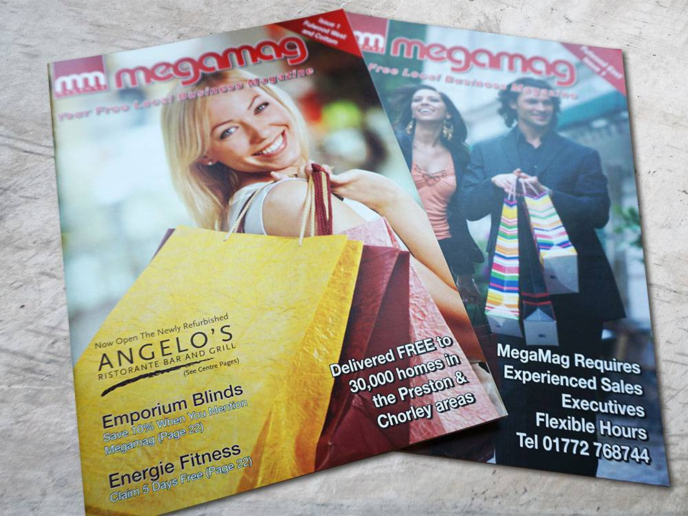 Magazine Design Advertising