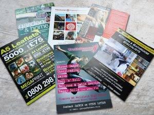 Leaflet Design Print