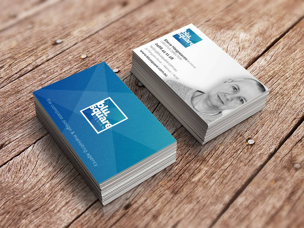 BluSquare Business Cards
