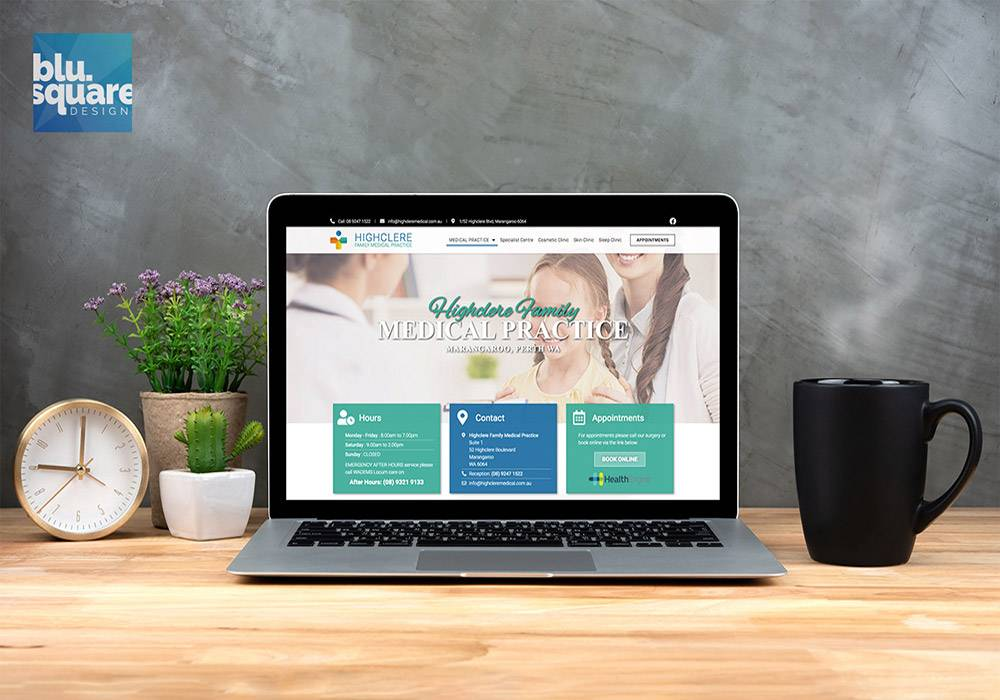 Website Design Highclere Medical Centre