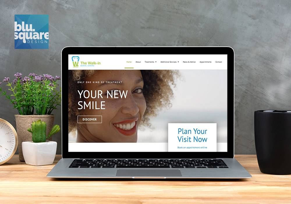 Website Design The Walk-In Dental Centre
