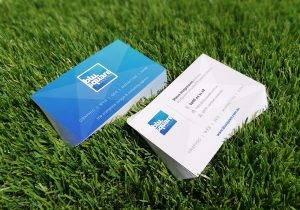 BluSquare Design Business Cards